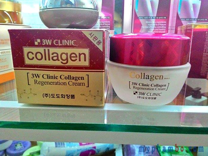 Kem Dưỡng Trắng Sáng Tái Tạo Da 3W Clinic Collagen