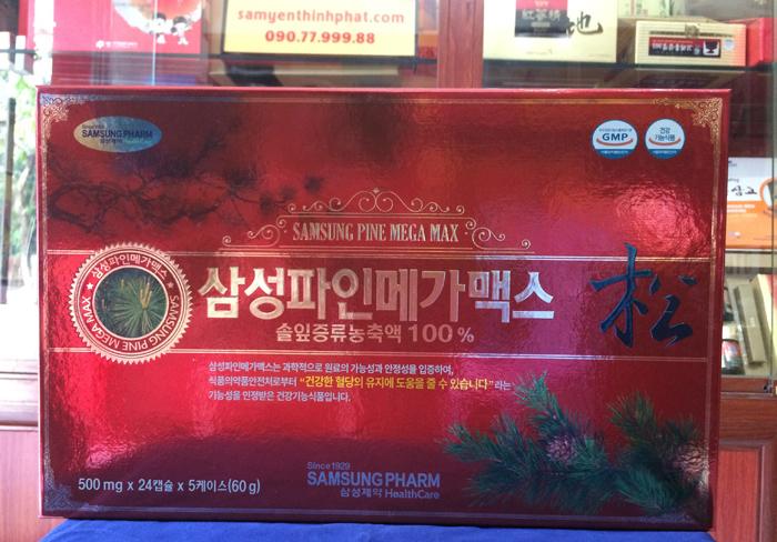 Viên tinh dầu thông đỏ Hàn Quốc cao cấp, Hỗ trợ điều trị mỡ máu hiệu quả