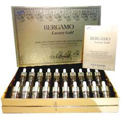 Serum Bergamo Luxury Gold Collagen & Caviar Hàn Quốc