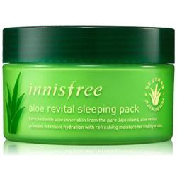 Kem dưỡng trắng da innisfree lô hội 100ml - innisfree aloe revital sleeping pack