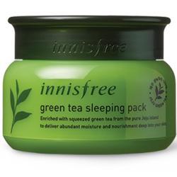 Kem dưỡng trắng da trị mụn innisfree trà xanh 80ml