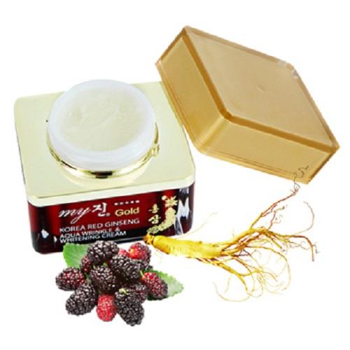 Kem Dưỡng Da Ngày & Đêm Từ Nhân Sâm Aqua wrinkle & whitening cream Hàn Quốc