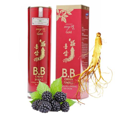 Kem Lót Nền Chống Nắng Sâm Đỏ BB Cream Hồng sâm My Gold Hàn Quốc