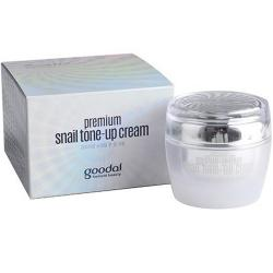 Kem dưỡng trắng da cao cấp ốc sên trắng Goodal Premium Snail Tone Cream Korea