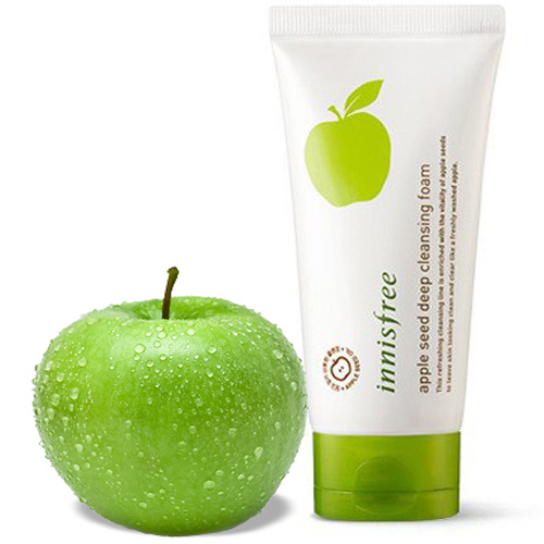 Sữa rửa mặt táo Innisfree Apple Seed Deep Cleansing Foam
