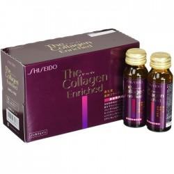 Nước collagen Shiseido Enriched Nhật Bản chống lão hóa sau tuổi 40, 10 lọ 50ml