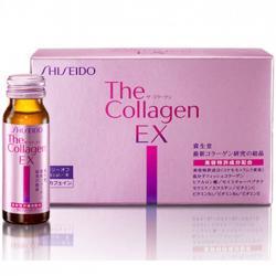 Nước Collagen Shiseido EX đẹp da chống lão hóa cho nữ 25t đến 40t hộp 10 lọ