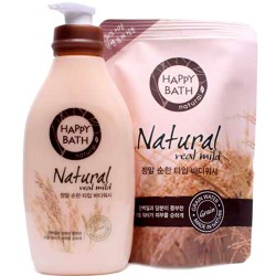 Sữa tắm cao cấp Happy Bath Set Hàn Quốc