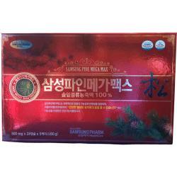 Viên tinh dầu thông đỏ Hàn Quốc cao cấp - Hỗ trợ điều trị mỡ máu hiệu quả