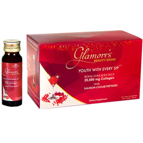 Glamore's Caviar Collagen 20.000mg - Nước Uống Collagen và Trứng Cá Hồi