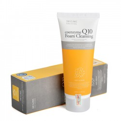 Sữa rửa mặt Coenzyme Q10 Foam Cleansing 3W Clinic