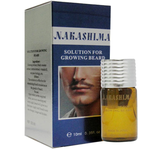 Thuốc mọc râu Nakashima Extra chính hãng Nhật Bản