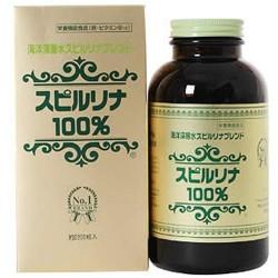 Viên tảo biển Spirulina Nhật Bản 100% hộp 2200 viên