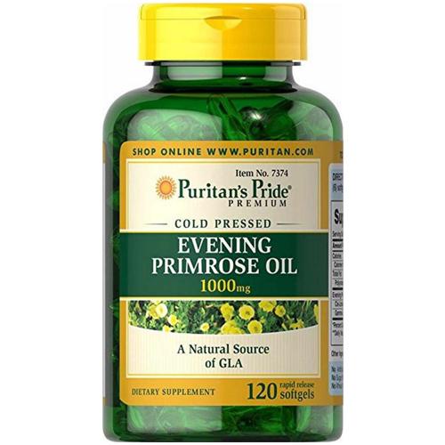 Viên tinh dầu hoa anh thảo tăng cường sinh lý nữ Evening primroseoil1000mg của Mỹ lọ 120 viên