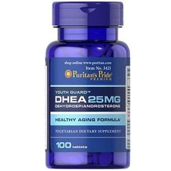 Viên uống tăng nội tiết tố nữ DHEA 50mg Puritan's Pride 100 viên của Mỹ